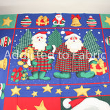 Christmas Fabric Panel by the Yard, Susan Jill Hall, Springs Industries