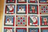 Cranston Christmas Fabric by Leslie Beck, Quilt Blocks, Squares