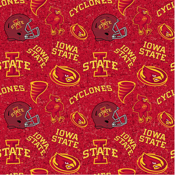 Iowa State University, Cyclones Fabric by the Yard, Fabric by the Half Yard