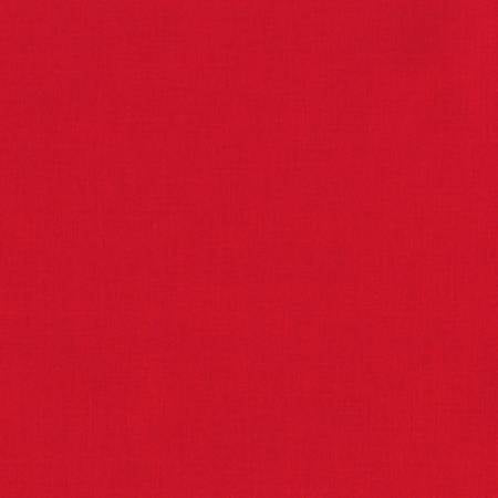KONA Red Solid Fabric by the Yard and Half Yard, Robert Kaufman