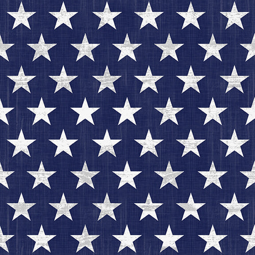 Live Free Patriotic Fabric by the Yard and Half Yard, 1