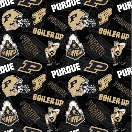 Purdue University Fabric by the Yard, Fabric by the Half Yard, Boilermakers