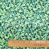 Marcus Brothers St. Patrick's Day Fabric by the Yard or Half Yard, Multiple Clovers