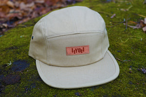 HYOH Flat Brim Panel Caps - TAN