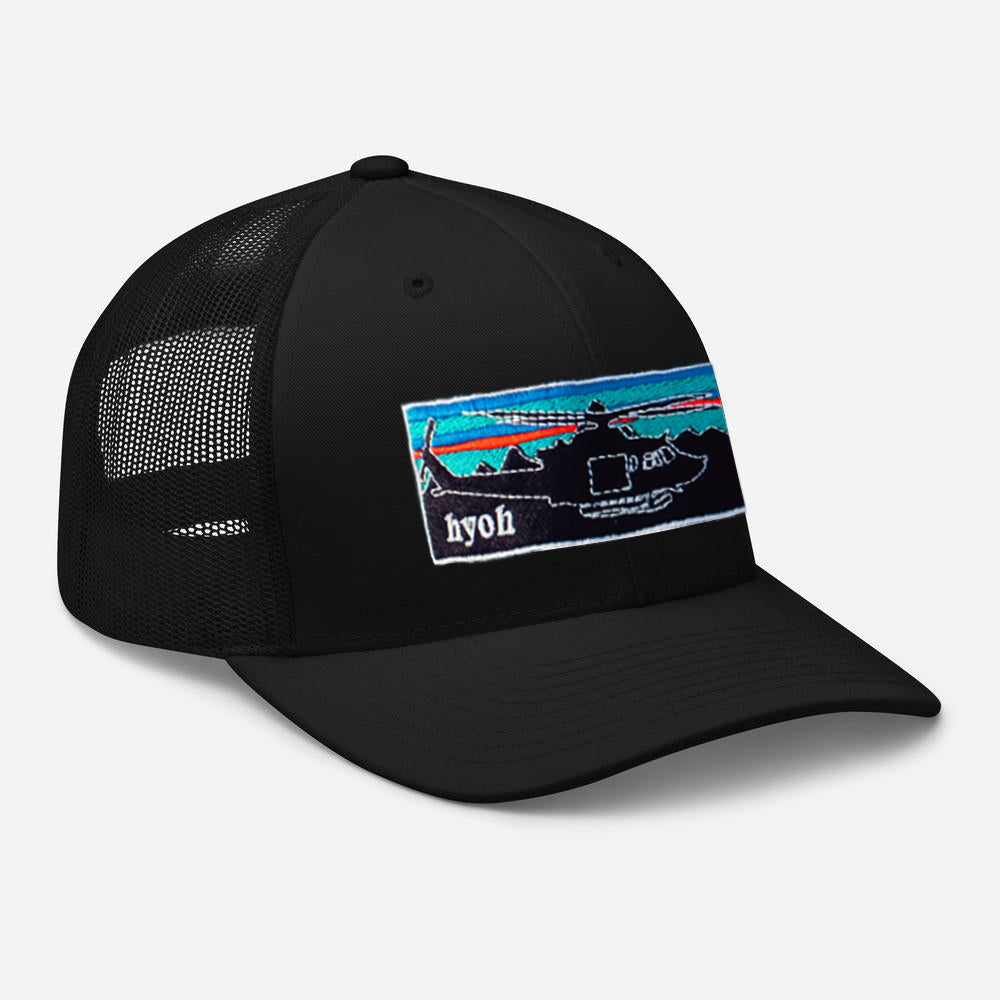 Patahuey Snapback - Black on Black