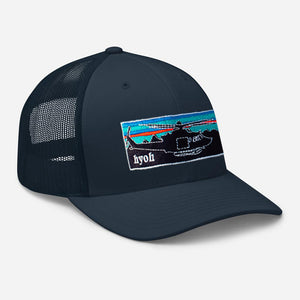 Patahuey Snapback - Blue on Blue