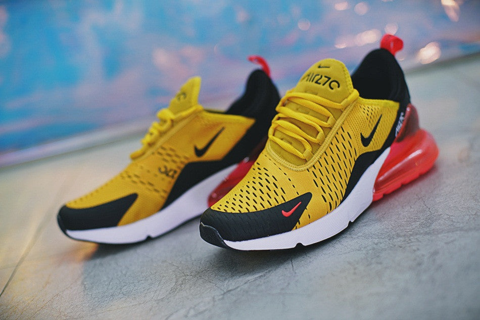 huge selection of db1c7 a69bc NIKE Air Max 270 yellow black red – Sneaker Suite