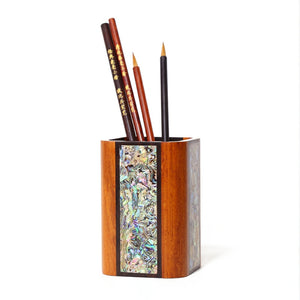 Handmade Mother-of-pearl Pen Container - Ori Wisdom