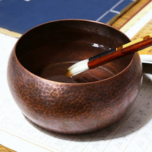 Red Copper Writing-brush Washer - Ori Wisdom