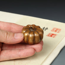Bronze Persimmon Shape Paperweight Home Decor - Ori Wisdom