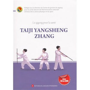 Health Qigong — Taiji Stick Health Preservation Exercises in French (with DVD) - Ori Wisdom