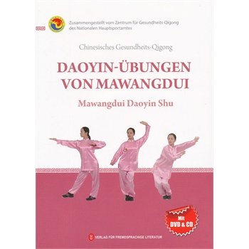 Health Qi Gong -- Mawangdui Daiyin Shu in German (with DVD) - Ori Wisdom