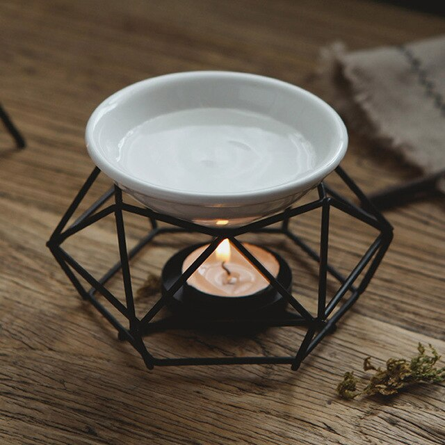 Creative Iron Aromatherapy Aroma Oil Burner Candle Aromatherapy Oil Lamp Decorations - Ori Wisdom