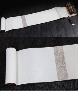 Semi- Raw Rice Paper Scroll Paper for Chinese Calligraphy - Ori Wisdom