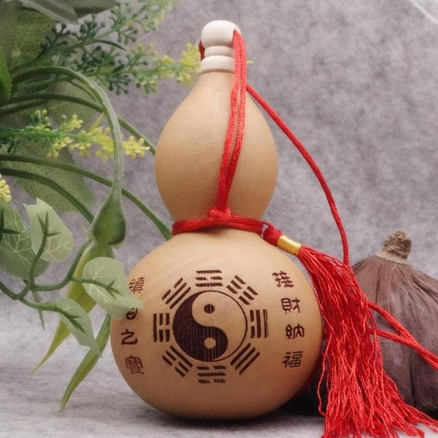 Natural Dry Gourd Bottle - Ori Wisdom