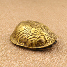 Pure Copper Turtle Shell Chinese Divination Tools - Ori Wisdom