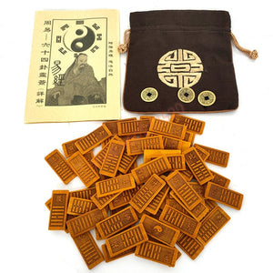 I Ching or Book of Changes 64 Hexagram Cards Divination Tools - Ori Wisdom