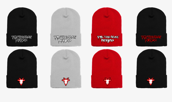 The Official Pb The Goat Merch Beanie Bundle!