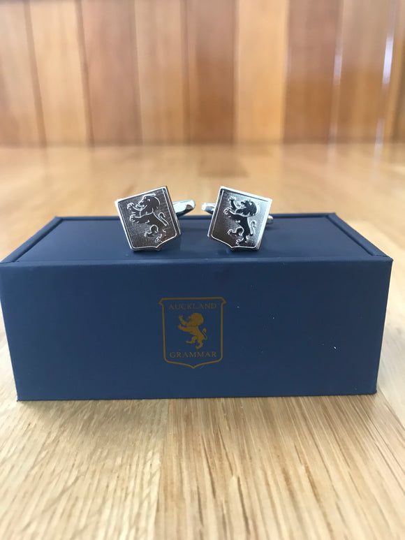 Silver Shield Cufflinks