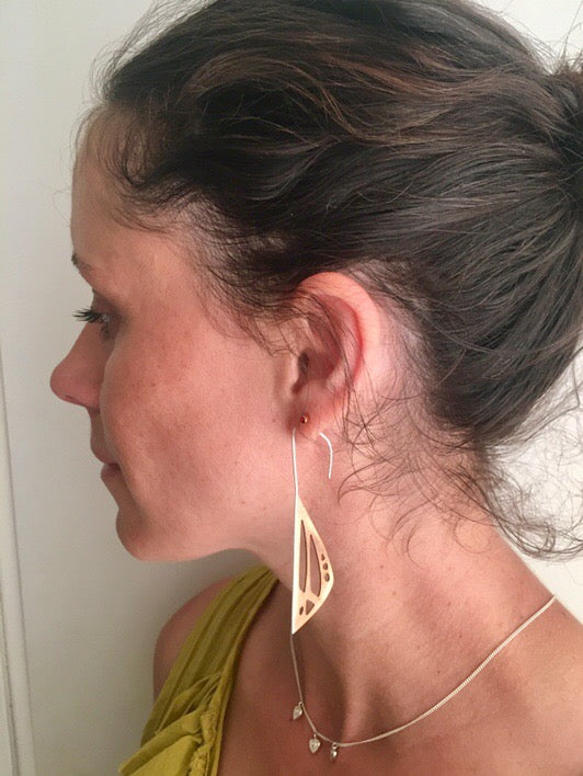 Fragment Threader Earrings