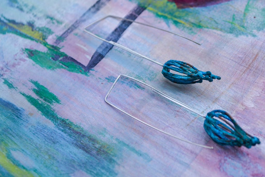 Tree Bauble Earrings