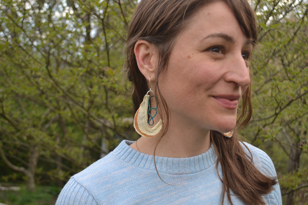 Pitcher Plant earrings