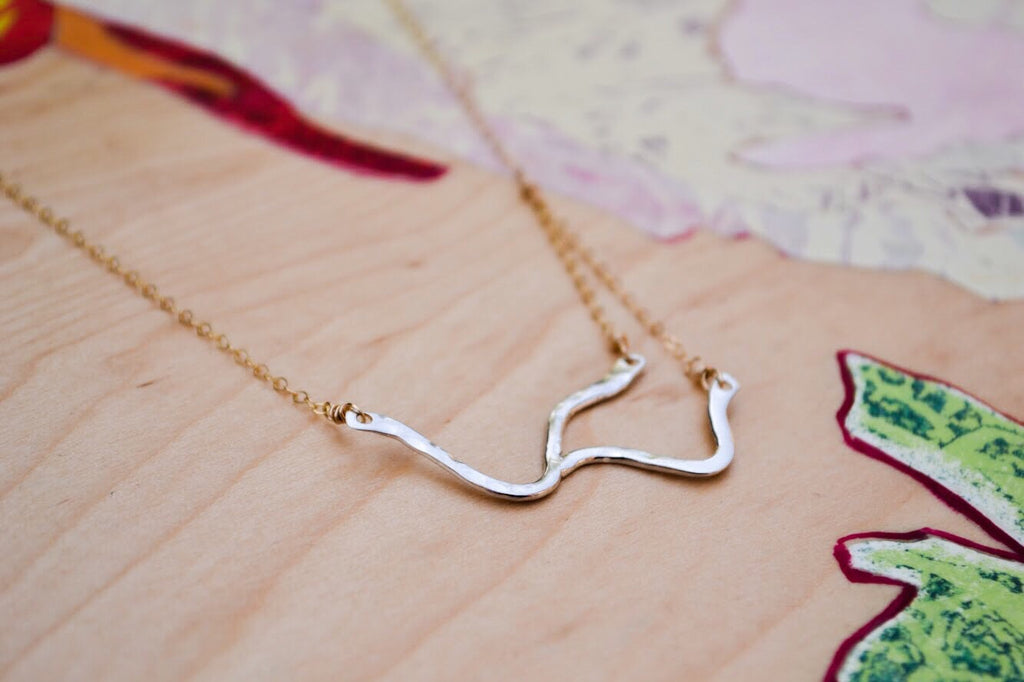 Pittsburgh Rivers Necklace