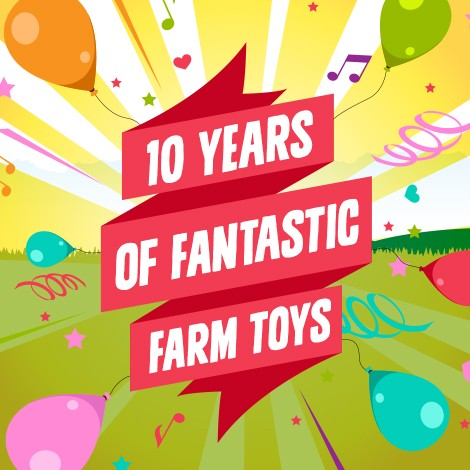 10 years of Farm Toys Online