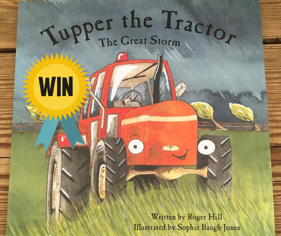 Win a Signed Copy of Tupper the Tractor and a Farm Keyring!