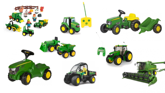 The Best John Deere Toys for Toddlers & Kids
