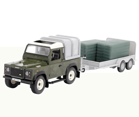 Green Landrover & General Purpose Trailer