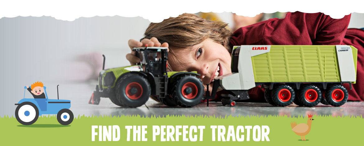 Farm Toys Online Toy Tractor Banner