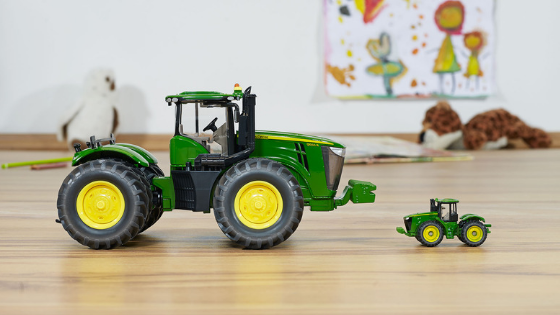 Toy Tractor Scales Guide