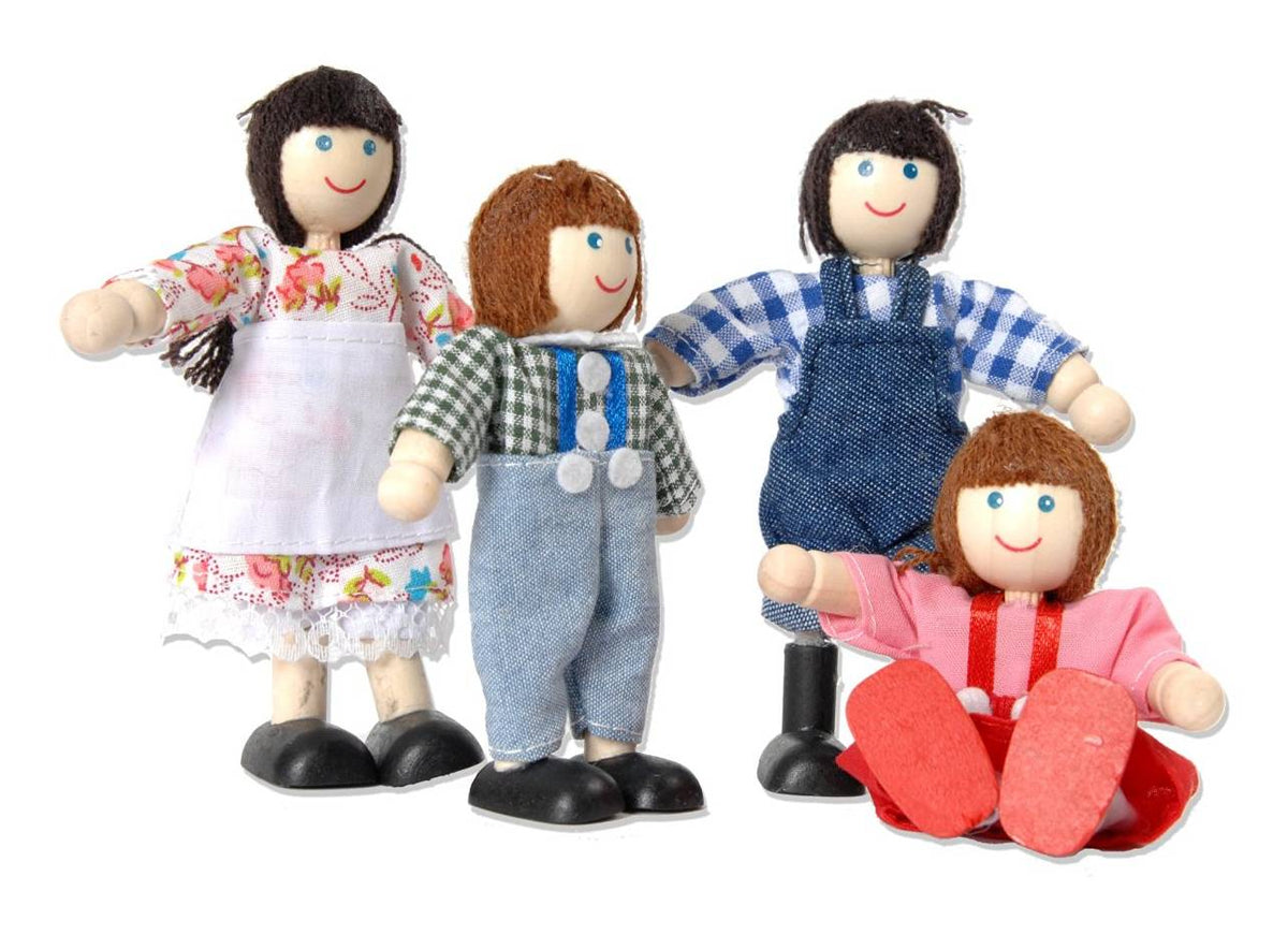 Branching Out Wooden Farm Family Figures