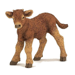 A brown calf. Team it with ...