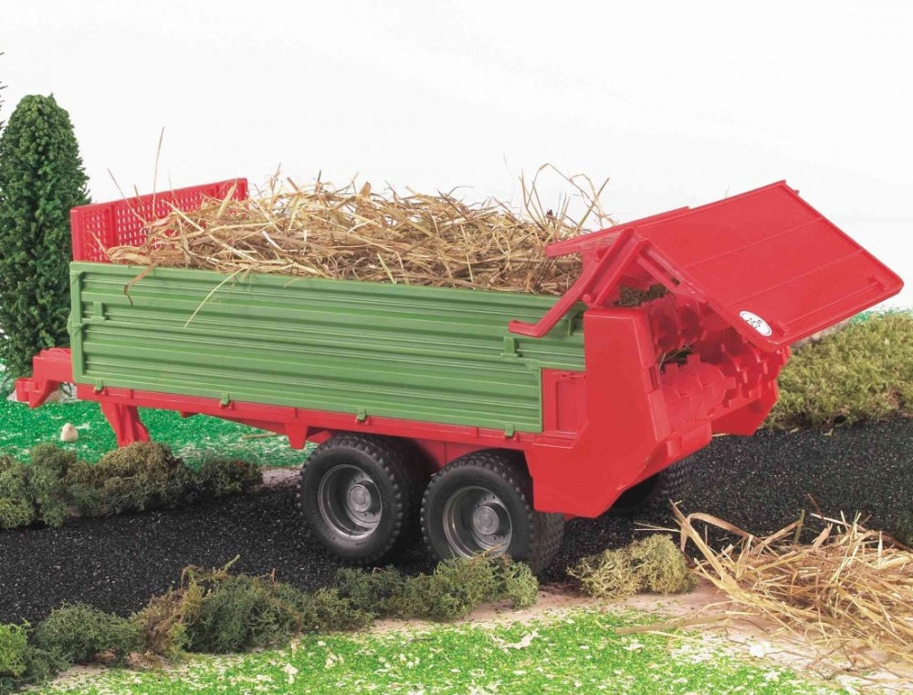 Bruder Muck Spreader Trailer Model 02209