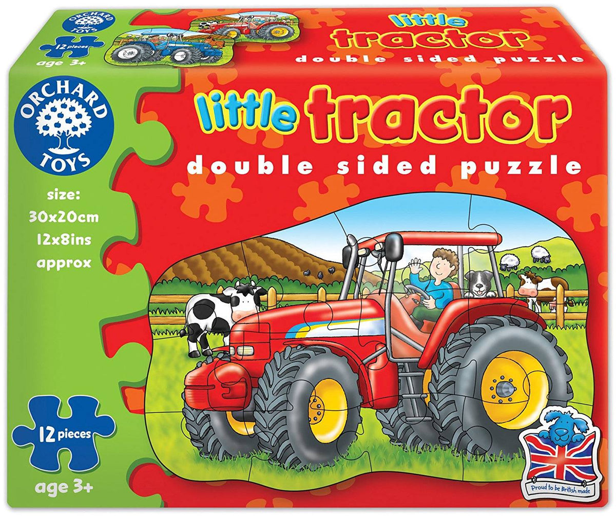 Little Tractor Puzzle Orchard Toys 300