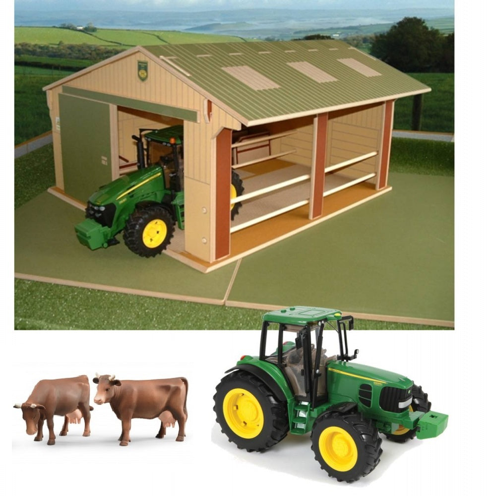 Large Scale Tractor Shed 1:16