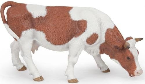 Papo 51147 Grazing Simmental Cow Farm Model Animal
