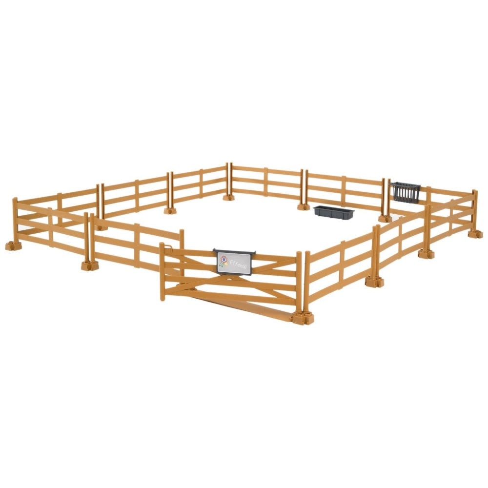 Bruder Bworld Brown Pasture Fence 62602