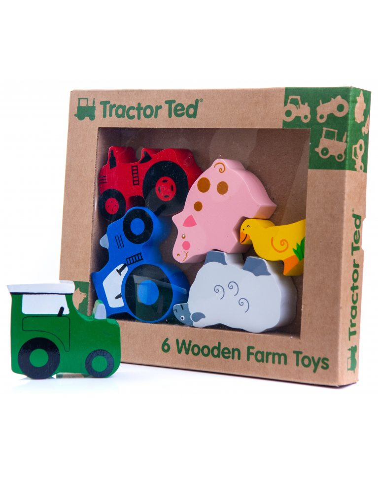 Tractor Ted Wooden Farm Toys