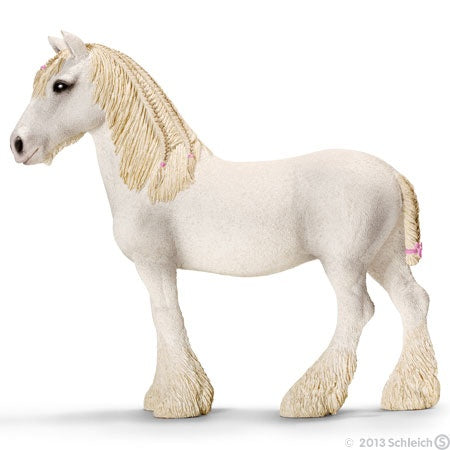 Schleich White Shire Mare Horse 13735 World of Nature