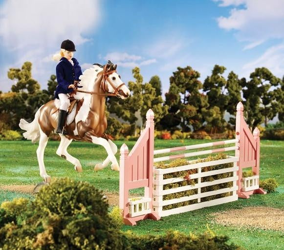 Breyer Traditional Brush Box Jump 2043 Scale 1:9