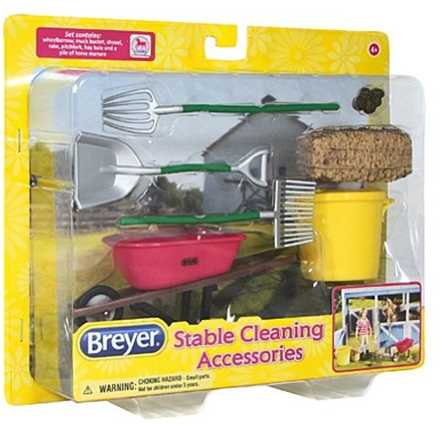 Breyer Classics Stable Cleaning Set 61074 Scale 1:12