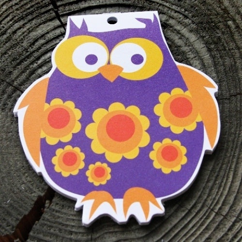 Bla Fre Children's Purple Owl Note Pad B4222