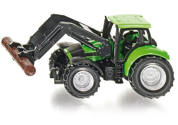 Siku Deutz Tractor with Tree Trunk Grapple 1380