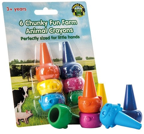 Tractor Ted Farm Animal Colouring Crayons