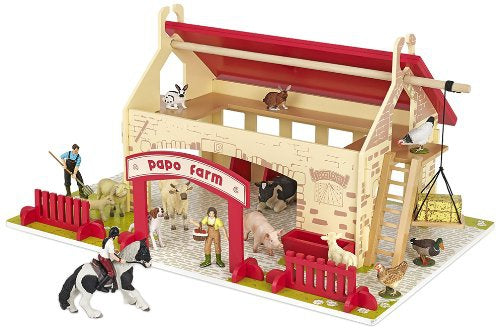 Papo My First Farm 60106 Wooden Farm Building