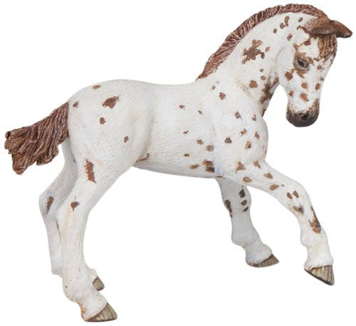 Papo 51510 Brown Appaloosa Mare Model Horse