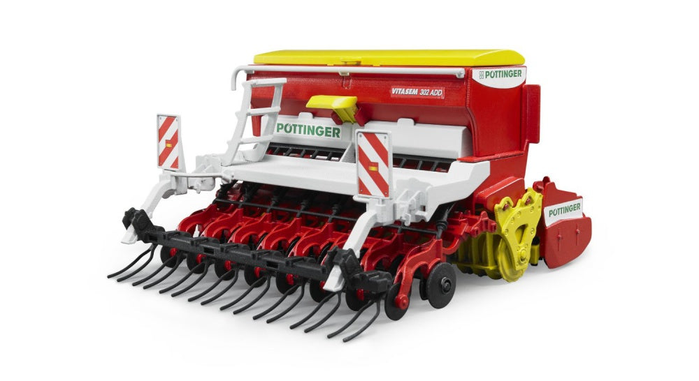 Bruder 02347 P�¶ttinger Vitasem 302ADD harrow-mounted seed drill